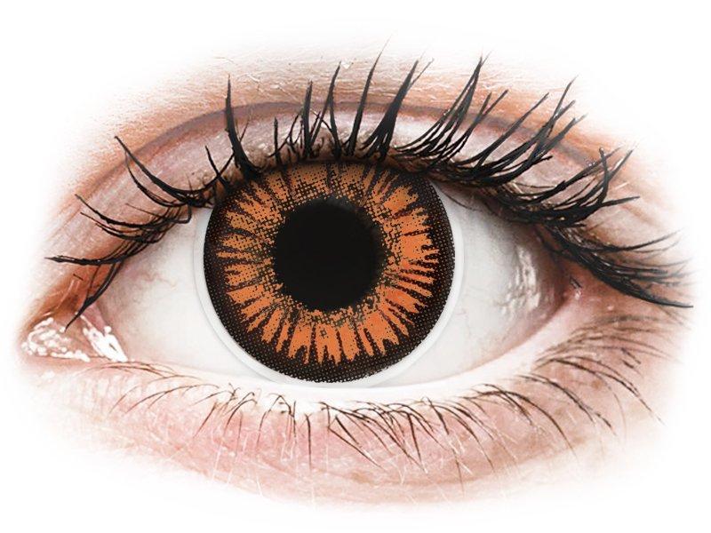 ColourVUE Crazy Lens - Twilight - cu dioptrie (2 lentile) - Lentile de contact colorate