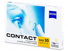 Zeiss - Carl Zeiss Contact Day 30 Spheric (6 lentile)