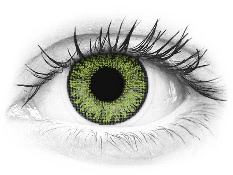 TopVue Color daily - Fresh Green - fără dioptrie (10lentile)