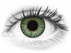 TopVue Color daily - Green - fără dioptrie (10lentile)
