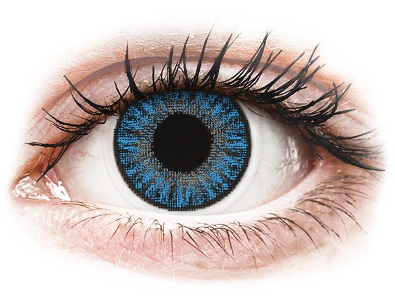 TopVue Color daily - Sapphire Blue - fără dioptrie (10lentile) - Lentile de contact colorate