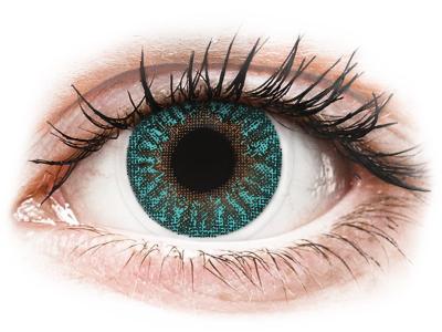 TopVue Color - Turquoise - cu dioptrie (2lentile)