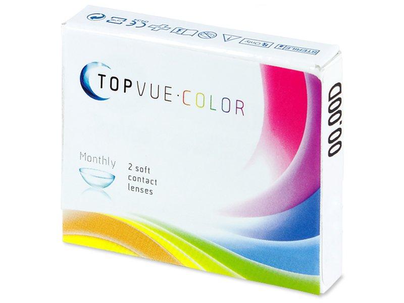TopVue Color - Turquoise - fără dioptrie (2 lentile) - Design-ul vechi