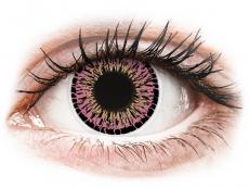 Lentile de contact roz - fără dioptrie - ColourVUE Elegance Pink - fără dioptrie (2lentile)