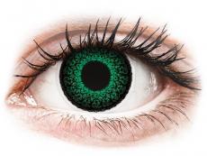 Lentile de contact cu dioptrie - ColourVUE Eyelush Green - cu dioptrie (2lentile)