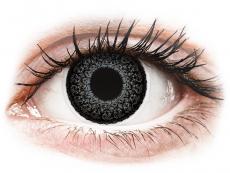 Lentile de contact cu dioptrie - ColourVUE Eyelush Grey - cu dioptrie (2lentile)