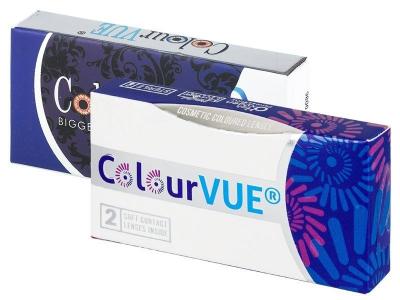 ColourVUE BigEyes Cool Blue - cu dioptrie (2lentile)