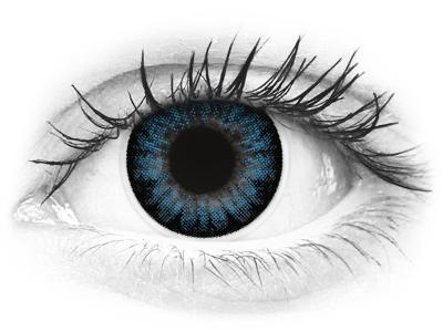 ColourVUE BigEyes Cool Blue - fără dioptrie (2lentile)