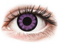 Lentile de contact fără dioptrii - ColourVUE BigEyes Ultra Violet - fără dioptrie (2lentile)