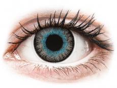 Lentile de contact albastre - fără dioptrie - ColourVUE Fusion Blue Gray - fără dioptrie (2lentile)