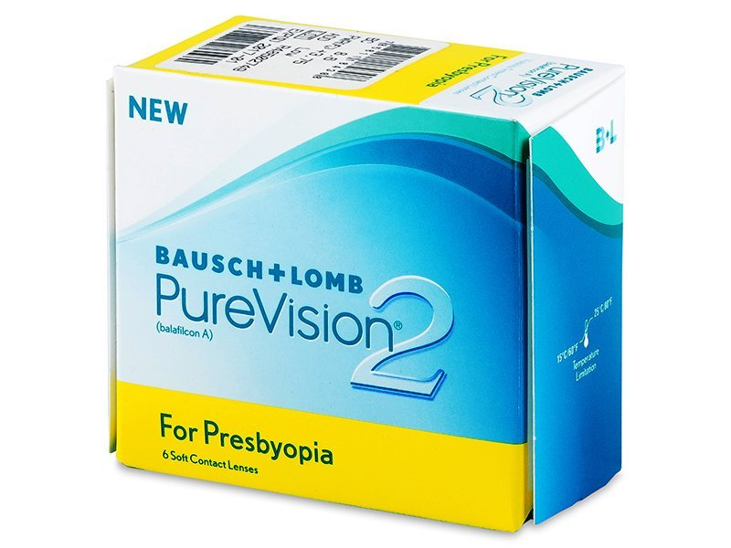 Purevision 2 for Presbyopia (6 lentile) - Lentile de contact multifocale - Bausch and Lomb