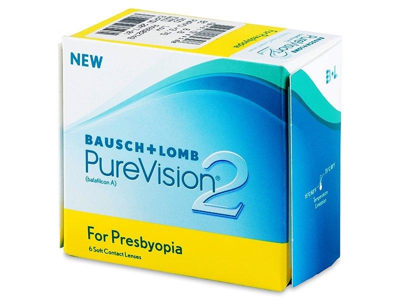 Purevision 2 for Presbyopia (6lentile) - Lentile de contact multifocale - Bausch and Lomb