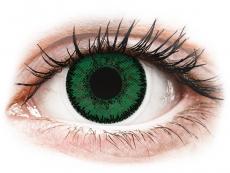 Lentile de contact verzi - cu dioptrie - SofLens Natural Colors Emerald - cu dioptrie (2 lentile)
