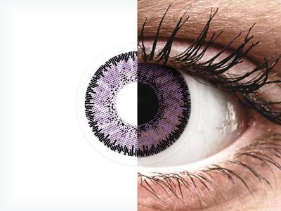 SofLens Natural Colors Indigo - cu dioptrie (2 lentile)