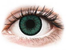 Lentile de contact verzi - fără dioptrie - SofLens Natural Colors Jade - fără dioptrie (2 lentile)