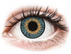 Lentile de contact albastre - fără dioptrie - Expressions Colors Blue - fără dioptrie (1 lentilă)