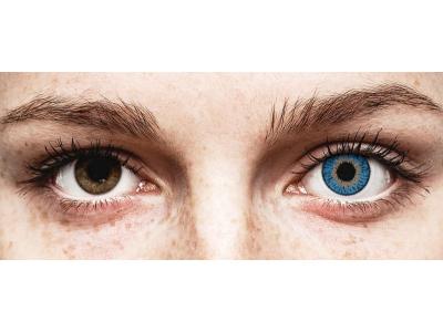 Expressions Colors Dark Blue - cu dioptrie (1lentilă)