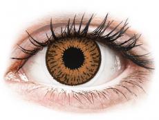 Lentile de contact maro - fără dioptrie - Expressions Colors Hazel - fără dioptrie (1 lentilă)