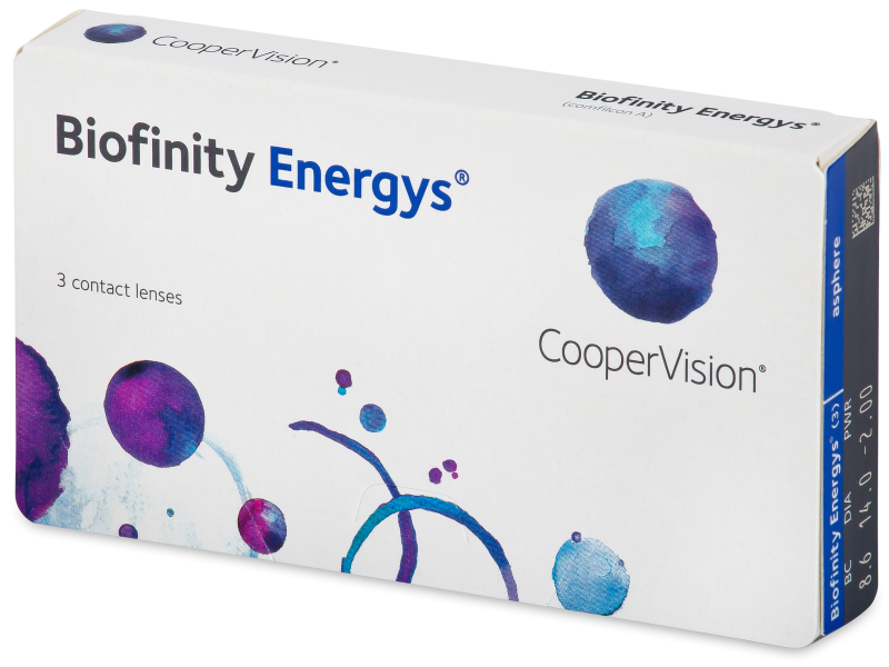 Biofinity Energys (3 lentile) - Contact lenses