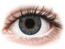 Lentile de contact albastre - fără dioptrie - FreshLook ColorBlends Blue - fără dioptrie (2 lentile)