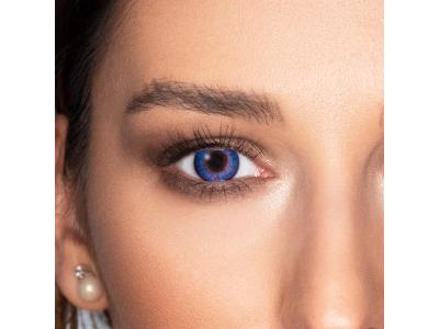 FreshLook ColorBlends Blue - fără dioptrie (2 lentile)