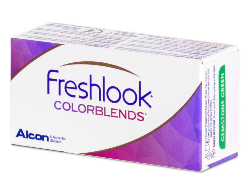 FreshLook ColorBlends Brown - fără dioptrie (2 lentile)