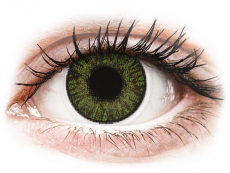Lentile de contact cu dioptrie - FreshLook ColorBlends Green - cu dioptrie (2 lentile)