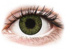 Lentile de contact verzi - fără dioptrie - FreshLook ColorBlends Green - fără dioptrie (2 lentile)