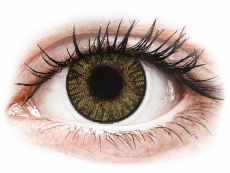 Lentile de contact maro - fără dioptrie - FreshLook ColorBlends Pure Hazel - fără dioptrie (2 lentile)
