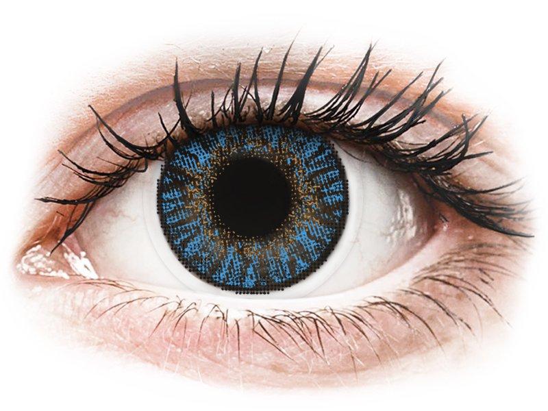 FreshLook ColorBlends True Sapphire - fără dioptrie (2 lentile)