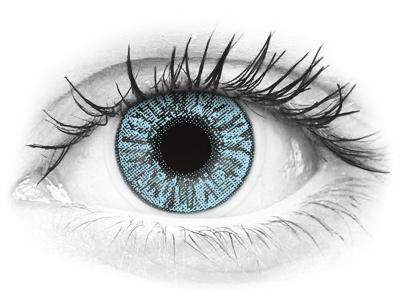 FreshLook Colors Blue - cu dioptrie (2 lentile)