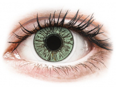 Lentile de contact cu dioptrie - FreshLook Colors Green - cu dioptrie (2 lentile)