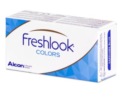 FreshLook Colors Misty Gray - fără dioptrie (2 lentile)