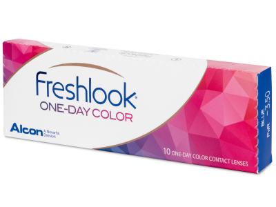 FreshLook One Day Color Grey - fără dioptrie (10 lentile)