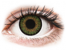 Lentile de contact verzi - cu dioptrie - FreshLook One Day Color Green - cu dioptrie (10 lentile)