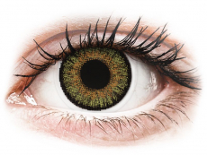 Lentile de contact verzi - cu dioptrie - FreshLook One Day Color Pure Hazel - cu dioptrie (10 lentile)