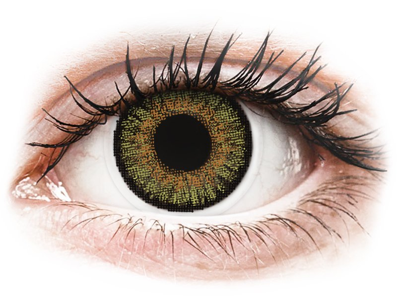 FreshLook One Day Color Pure Hazel - cu dioptrie (10 lentile) - Lentile de contact colorate