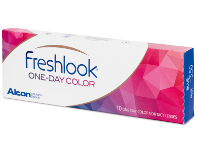 FreshLook One Day Color Pure Hazel - fără dioptrie (10 lentile)