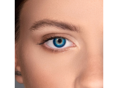 FreshLook Dimensions Pacific Blue - cu dioptrie (6 lentile)