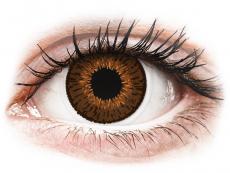 Lentile de contact CooperVision - Expressions Colors Brown - cu dioptrie (1 lentilă)