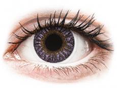 Lentile de contact mov - fără dioptrie - TopVue Color - Violet - fără dioptrie (2 lentile)