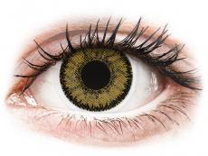 Lentile de contact maro - fără dioptrie - SofLens Natural Colors Dark Hazel - fără dioptrie (2 lentile)