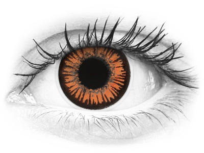 ColourVUE Crazy Lens - Twilight - lentile zilnice fără dioptrie (2 lentile)