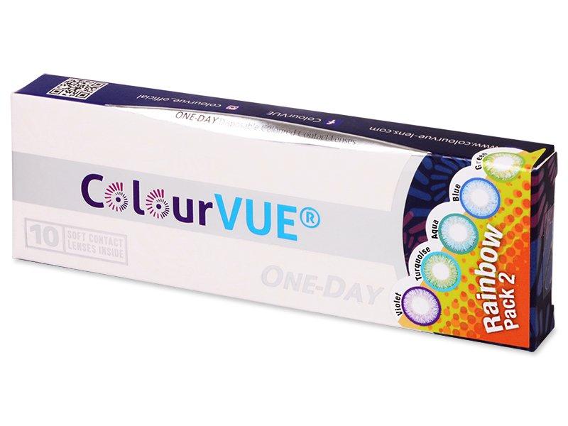 ColourVue One Day TruBlends Rainbow 2 - fără dioptrie (10 lentile)