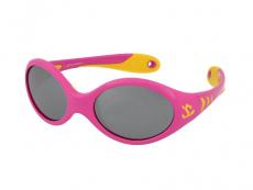 Ochelari de soare Ovali - Kid Rider KID177 Pink/Yellow