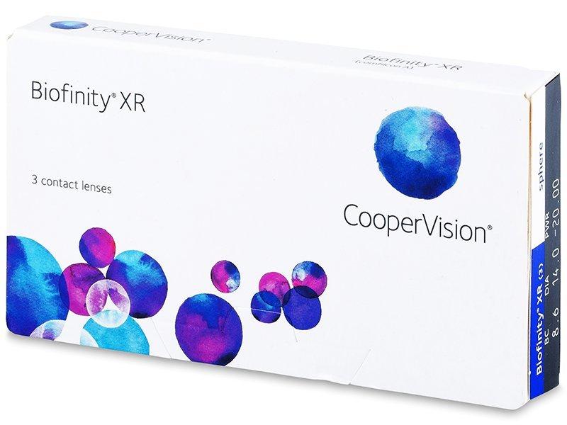 Biofinity XR (3lentile) - Lentile de contact lunare