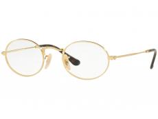Ochelari de vedere Ovali - Ray-Ban RX3547V 2500