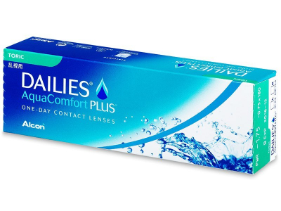Dailies AquaComfort Plus Toric (30 lentile)