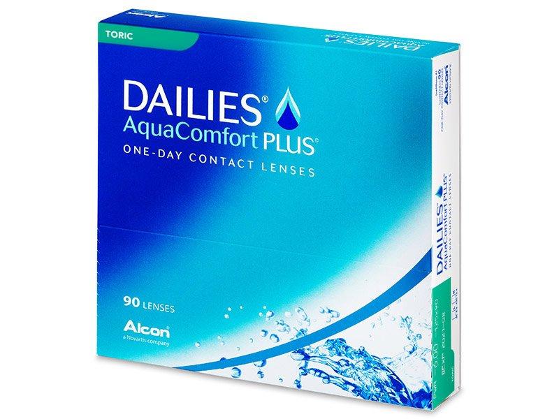 Dailies AquaComfort Plus Toric (90lentile) - Lentile de contact torice - Alcon