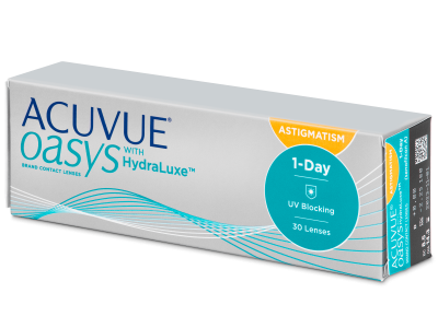 Acuvue Oasys 1-Day with HydraLuxe for Astigmatism (30 lentile)